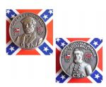 Confederate Generals Lee & Jackson Coins Set